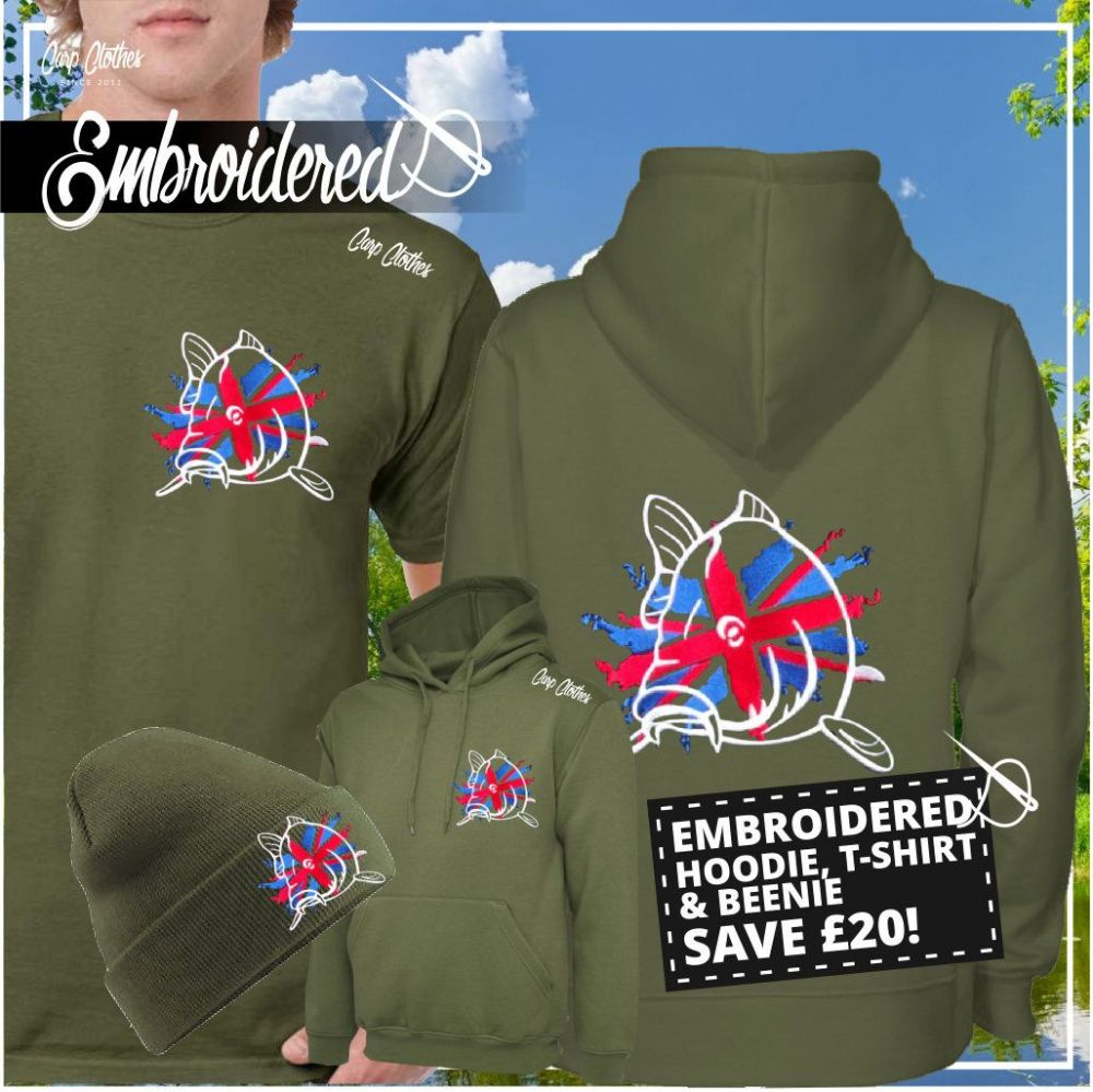 011 EMBROIDERED CARP DEAL